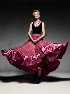 Flamenco rok gemaakt door Karien